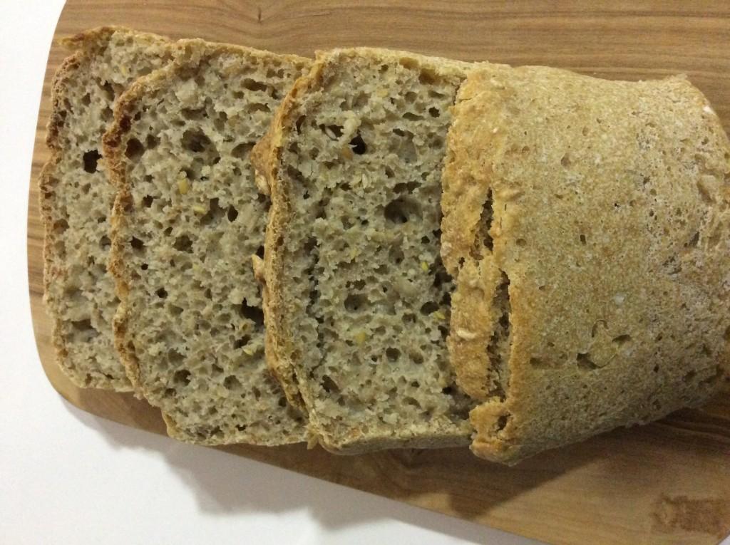 Pão aveia e espelta